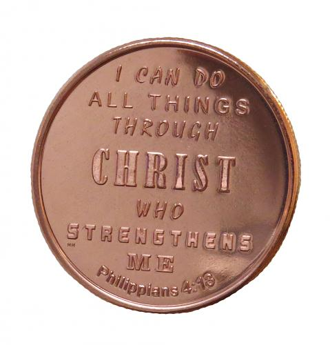 Philippians 4:13-Copper Shiny