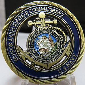 US NAVY Honor-Courage-Commitment