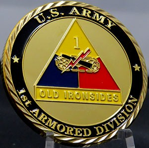 US ARMY-1ST Armored Division-Old Ironsides
