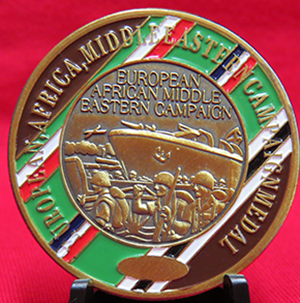 European, Africa, Middle Eastern, Campaign Medal