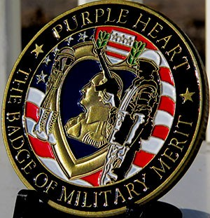 Purple Heart-The Badge of Military Merit