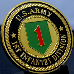 US ARMY 1ST Infantry Division