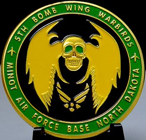 USAF 5TH Bomb Wing Warbirds-Minot Air Force Base North Dakota