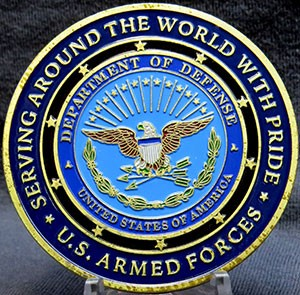 US Armed Forces- Proud Military Family (50MM)