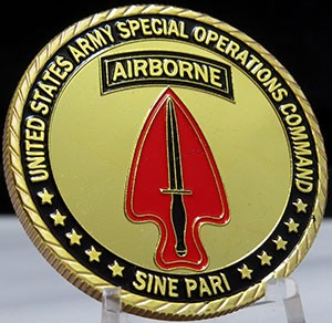 USARMY Special Operations Command-SINE PARI
