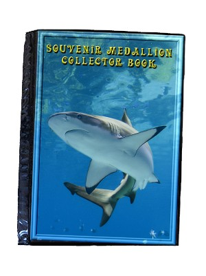Shark Medallion Collector Book
