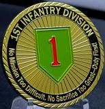 ARMY-1ST Infantry Division-No Mission Too Difficult, No Sacrifice Too Great-Duty First