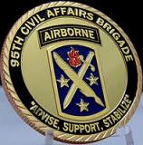 "95TH Civil Affairs Brigade-AIRBORNE- ""Advise, Support, Stabilize"""
