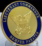 US Coast Guard- Lieutenant Commander-Semper Paratus