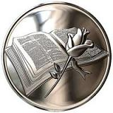 Bible and Rose - One Ounce .999 Silver