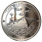 "USS LEXINGTON- ""The Blue Ghost"""