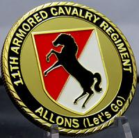 11TH Armored Cavalry Regiment-Allons (Let's Go)