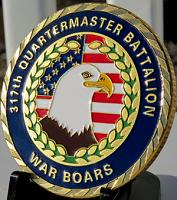 317TH Quartermaster Battalion WAR BOARS