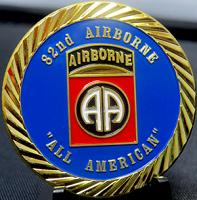 "82ND Airborne ""All American"""