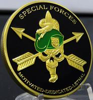 Special Forces-Motivated, Dedicated, Lethal