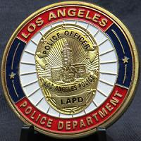 LAPD Police Department Star Badge