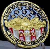 Maritime Special Operations Force-On Time! On Target! Never Quit!