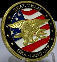 NAVY Seal Team- Sea, Land, Air